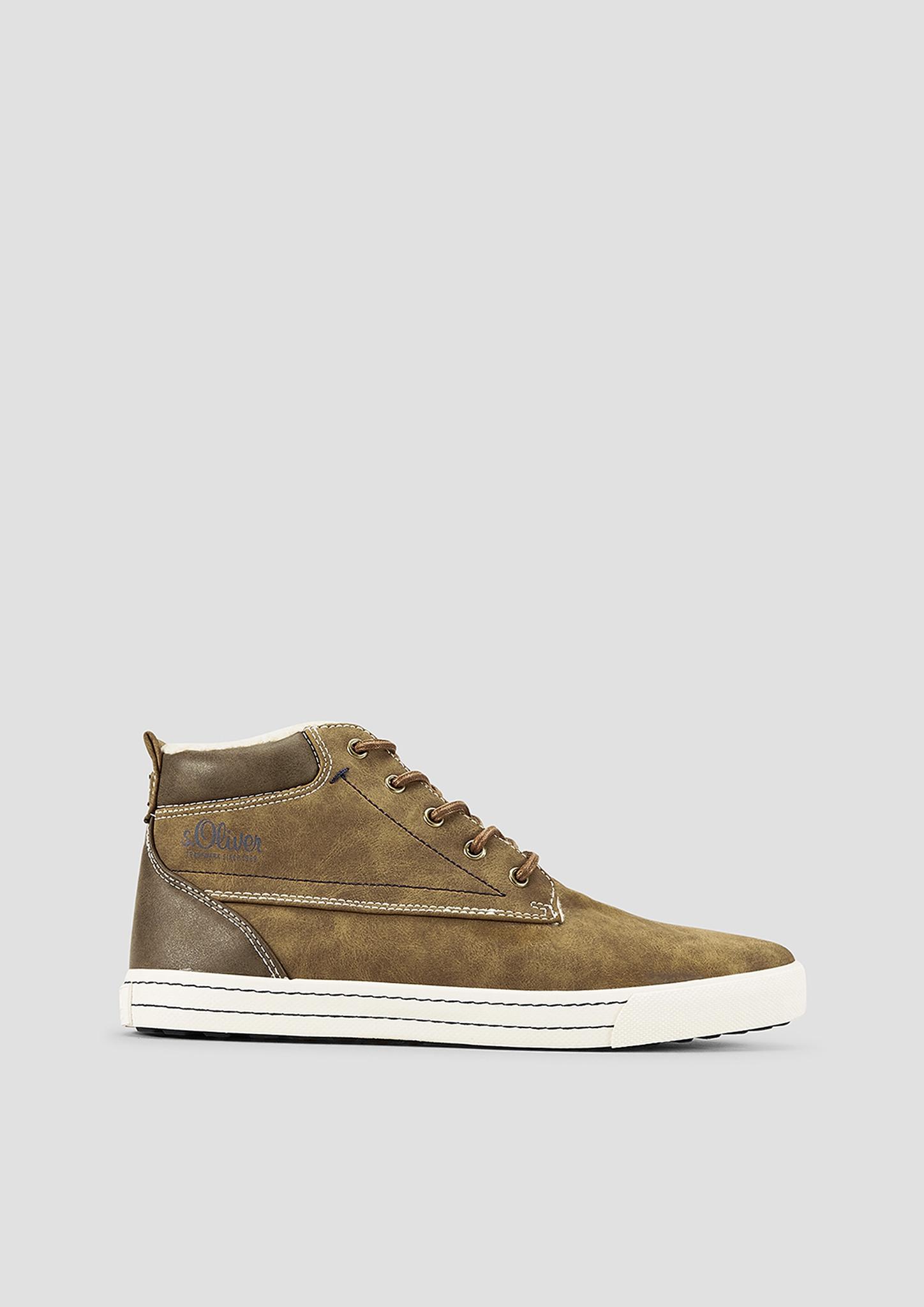 Stiefel | Schuhe | Braun | Obermaterial aus synthetik| futter und decksohle aus textil| laufsohle aus synthetik | s.Oliver