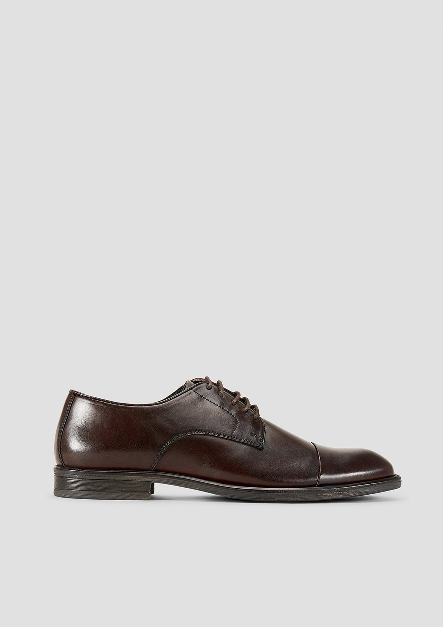 Lederschnürer | Schuhe > Schnürschuhe | Braun | Obermaterial aus leder| futter und decksohle aus leder und textil| laufsohle aus synthetik | s.Oliver