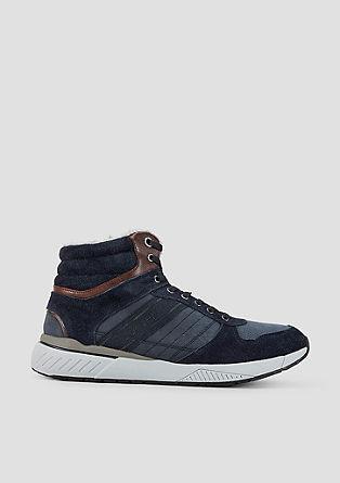SO HYB-Wintersneaker aus Leder
