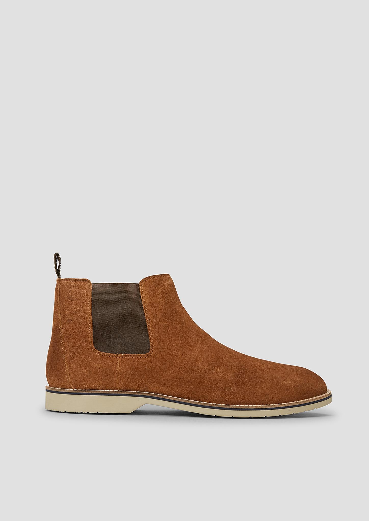 Stiefel | Schuhe > Boots | Braun | Obermaterial: leder| futter: materialmix aus leder und textil| decksohle: materialmix aus leder und textil| laufsohle: synthetik | s.Oliver
