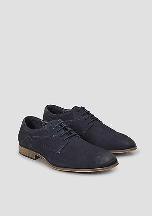 Usnjeni čevlji z vezalkami – SO FLEX