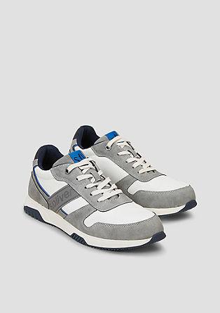 Sneakers met kleuraccenten