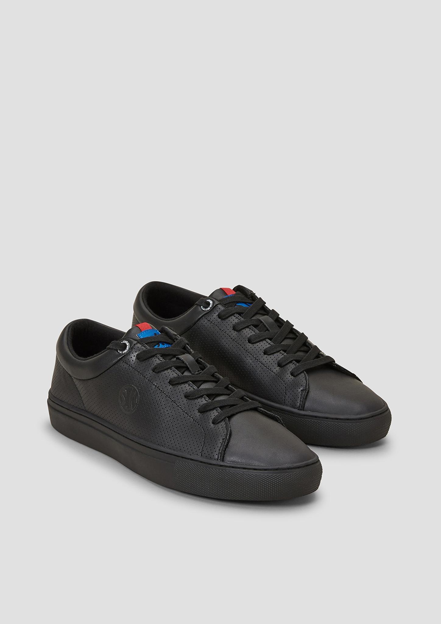 Sneakers | Schuhe > Sneaker | Schwarz | Obermaterial: leder| futter: textil| decksohle: textil| laufsohle: synthetik | s.Oliver