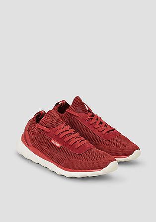 Luchtige knitwear-sneakers