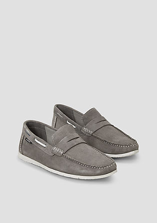 Flexible Leder-Slipper