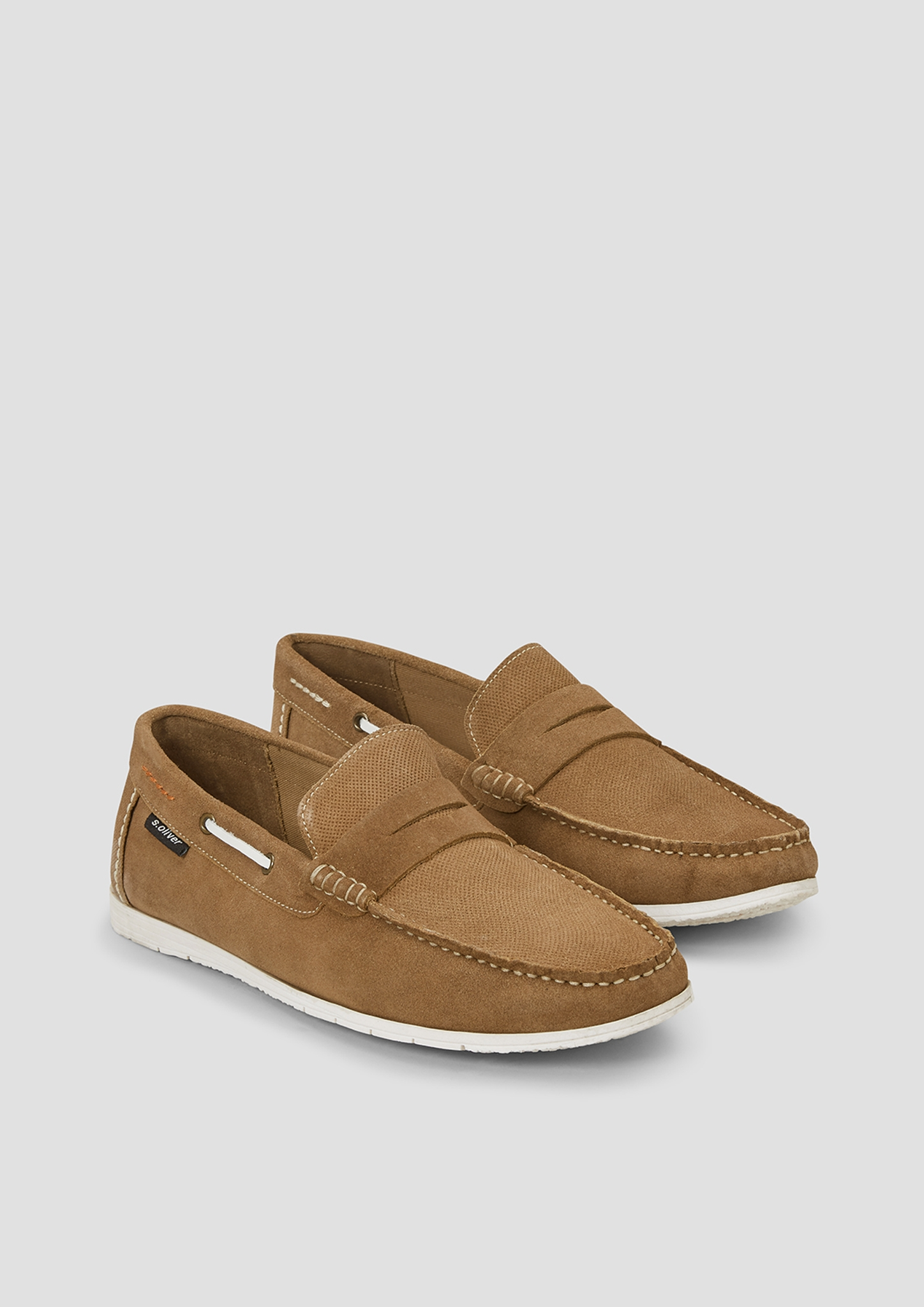 Leder-Slipper | Schuhe > Slipper | s.Oliver