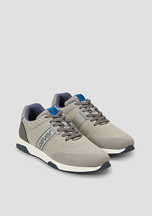 Sneaker in Knitwear-Optik