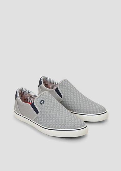 Slip On-Sneaker mit Struktur