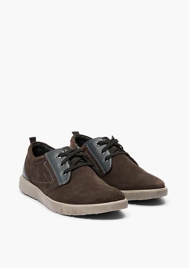 Chaussures à lacets en cuir velours de s.Oliver