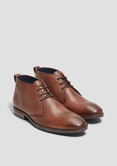 Usnjeni čevlji SO FLEX z vezalkami