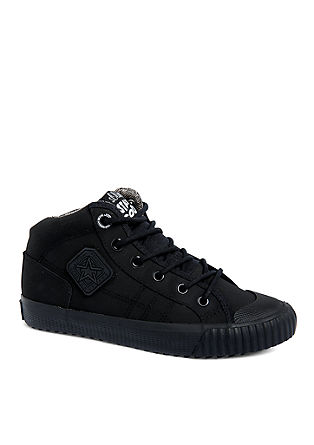 High top sneaker in een ton sur ton design