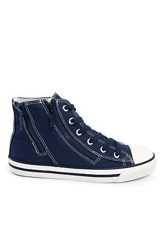 High Sneaker aus Textil