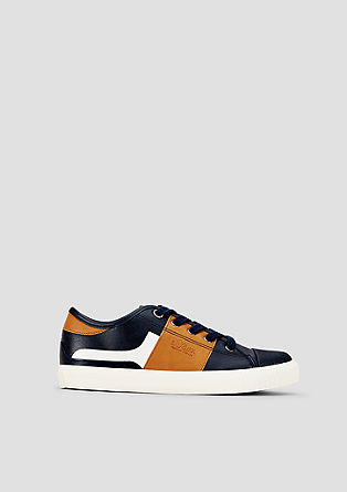 Sneaker mit Colour Blocking