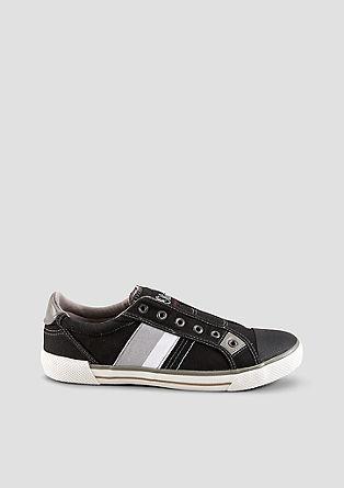 Slip-on-Sneaker aus Canvas