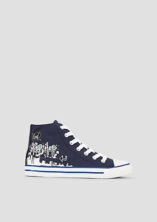 Sneakers montantes à imprimé de s.Oliver