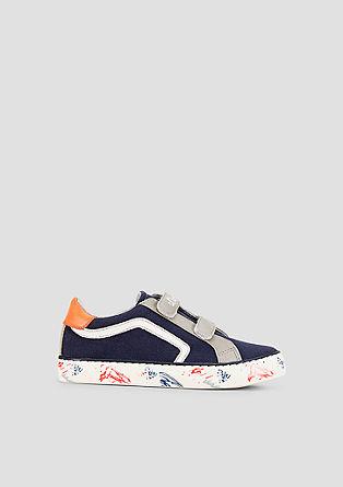 Textil-Sneaker mit Klettverschluss