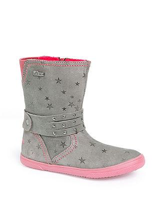 Tex-Stiefel aus Veloursleder