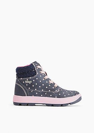 Podloženi športni čevlji iz materiala Tex