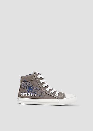 Textil-Sneaker mit Print