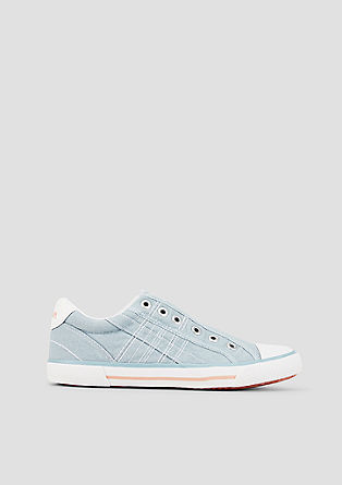 Slip-on-Sneaker aus Canvas