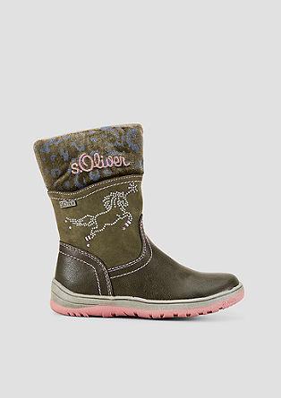 Tex-Stiefel mit Einhorn-Motiv