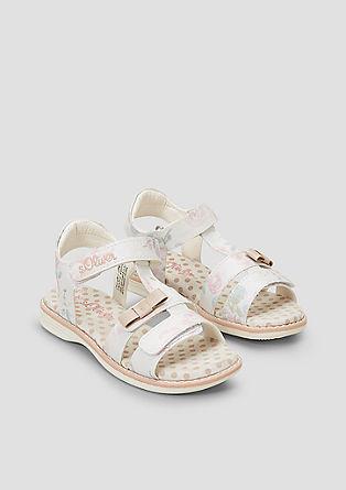 Sandalen mit Schleifen-Detail