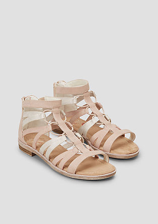 Sandalen met sterrenprint