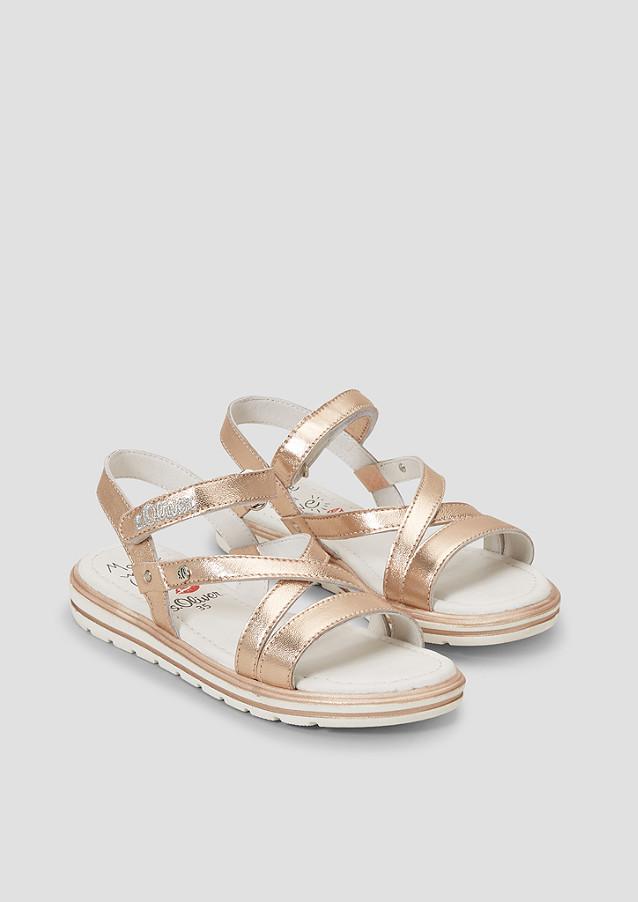Riemchen Sandalen mit Metallic kaufen | s.Oliver Shop
