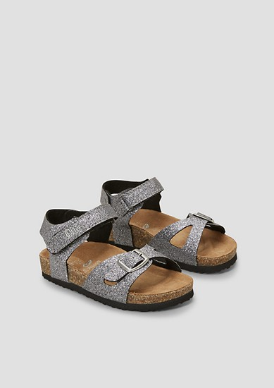 Sandalen met een voetbed
