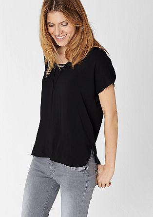 Bluzna majica z verižnim elementom