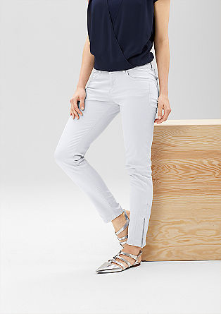 Slim: jeans with leg zips from s.Oliver