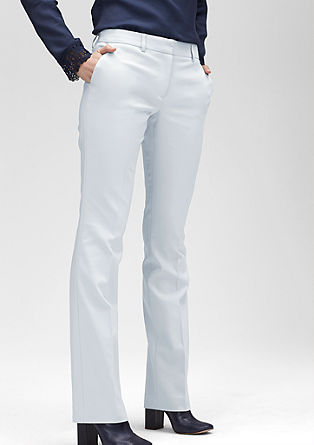 Slim: stretch cotton trousers from s.Oliver