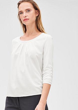 Gerüschtes Blusenshirt