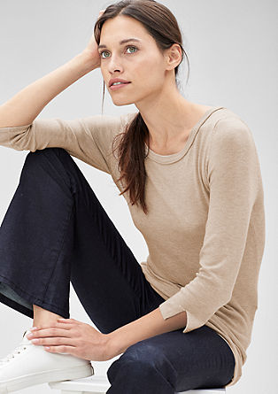 Long fine knit jumper from s.Oliver