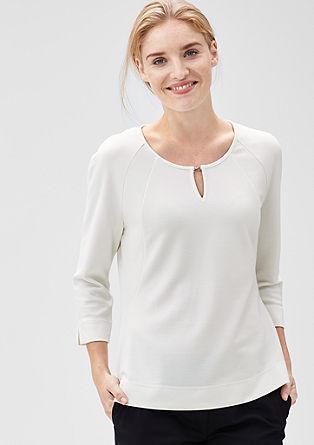 Elegantes Stretch-Shirt