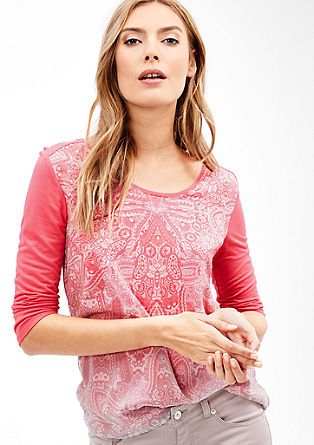 3/4-length sleeve top from s.Oliver