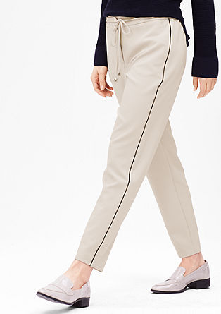 Sporty Stretch-Pants in 7/8-Länge