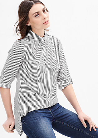 Long blouse with an all-over pattern from s.Oliver