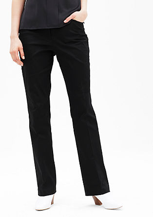 Rachel Regular: elegant business trousers from s.Oliver