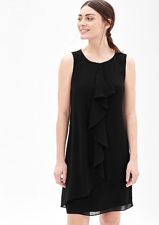Leichtes Chiffon-Kleid