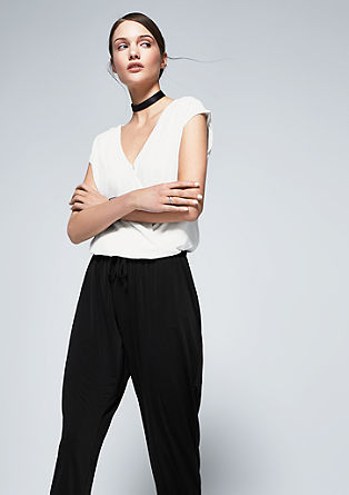 V-neck jumpsuit from s.Oliver