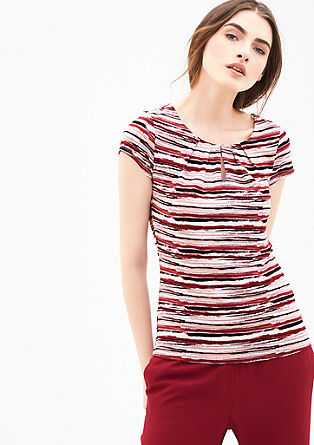 Vrouwelijk printed shirt