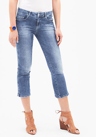 Sienna Slim Low: stretch jeans with a 7/8-length leg from s.Oliver