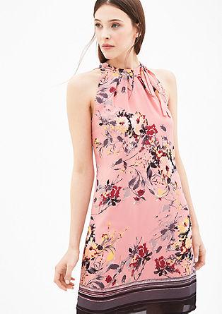 Patterned off-the-shoulder dress from s.Oliver
