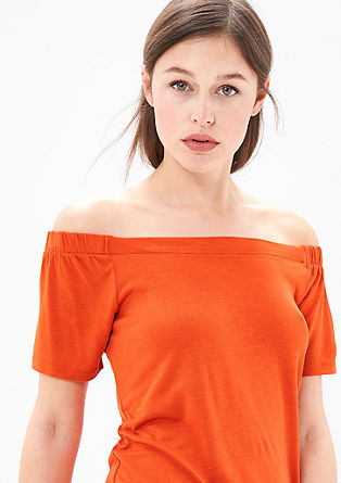 Off Shoulder-Jerseyshirt