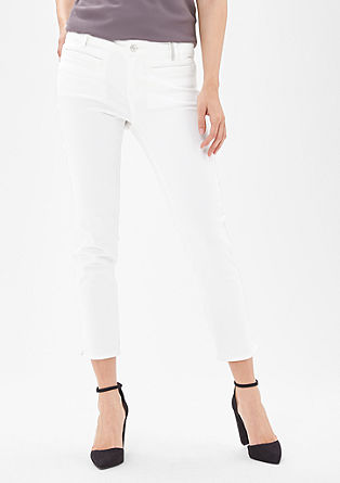 Sienna Superslim: 7/8-length trousers from s.Oliver