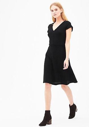 Kleid mit Ajour-Muster