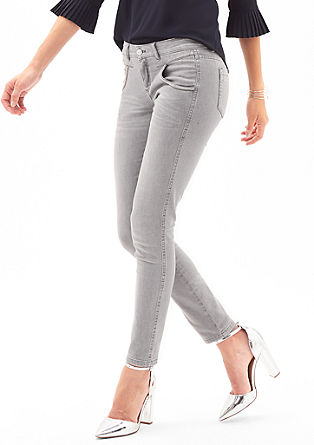 Sienna Slim: jeans with decorative details from s.Oliver