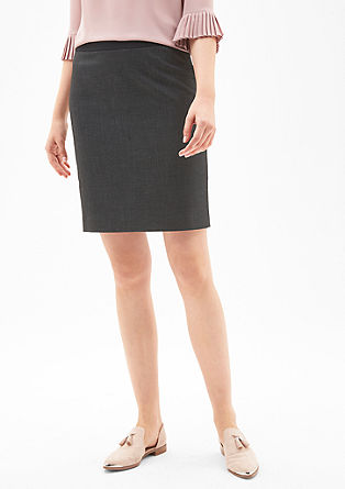 End-on-end business skirt from s.Oliver