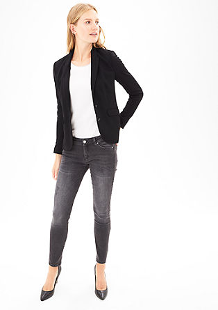 Eleganter Jersey-Blazer